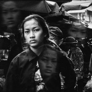street photography phnom penh cambodia black and white