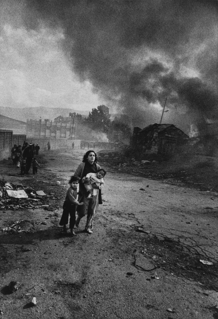 don McCullin Quarantina Liban 1976