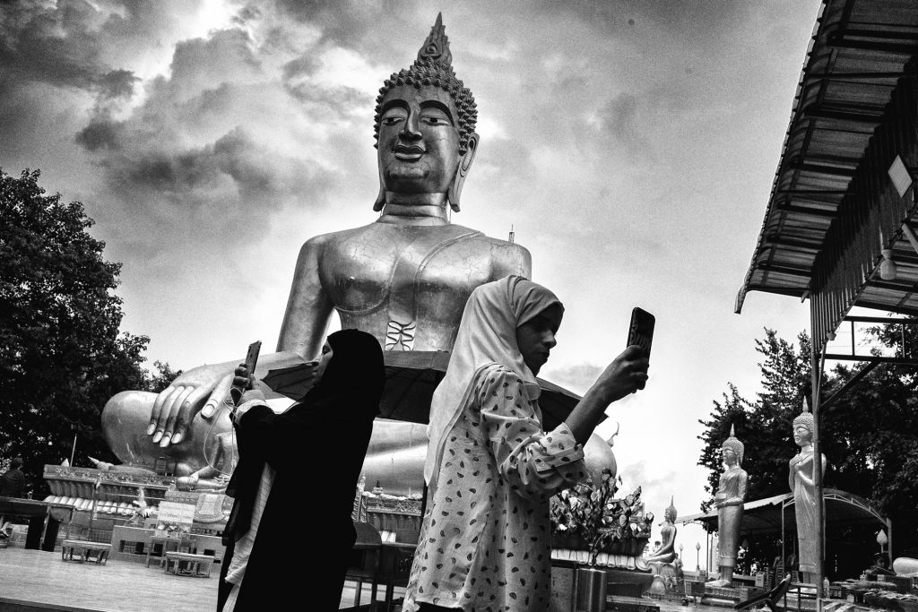 big buddha pattaya street photo