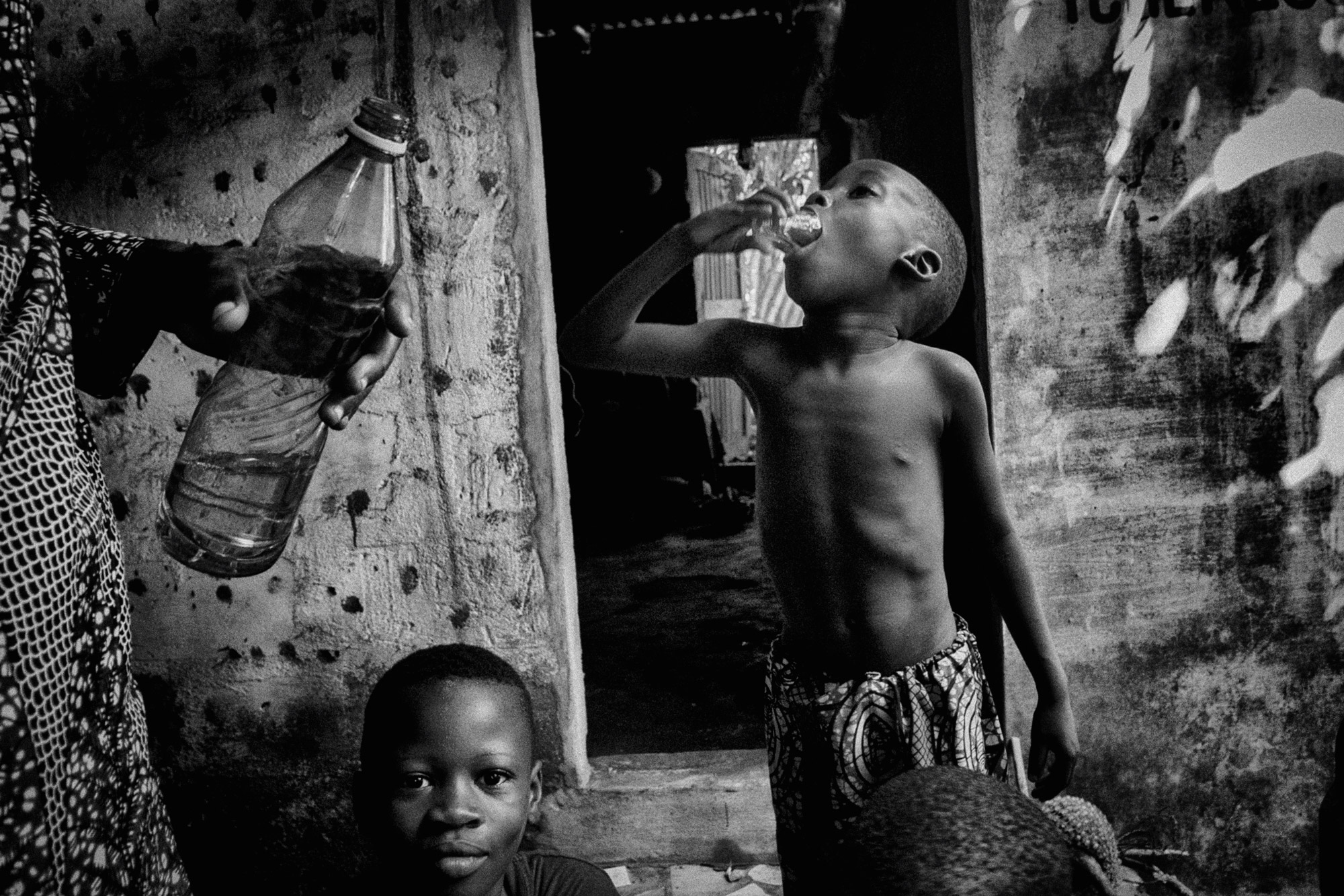 black and white Ouidah Vaudou